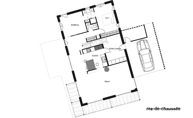 Maison J. - St Etienne-De-Montluc (44) - Gilles Cornevin Achitecture